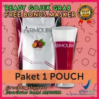ARMOURA Slim & Beauty Drink 1 Pouch isi 10 sachet Original, Pelangsing