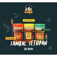 Paket Sambal Bu Rudy Surabaya ASLI Komplit 3Botol (Bajak-Bawang-Peda)