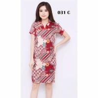 Baju Batik Wanita/Dress Batik Wanita/cheongsam 031