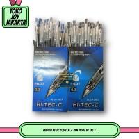 Pulpen HITEC 0.3 0.4 / Pen Pilot Hi Tec C