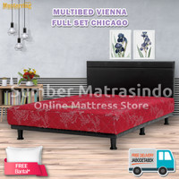 Spring Bed Musterring Multibed Vienna 160x200 FULL SET HB Chicago