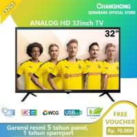 Changhong LED TV 32 Inch HD TV Semarang Analog TV(Tipe L32G3)