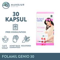 Folamil Genio - Multivitamin dan Mineral Khusus Ibu Hamil