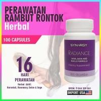 Radiance Vitamin Rambut Herbal, Cegah Rambut Rontok Ibu Hamil Menyusui