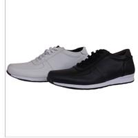 Sepatu Sneakers Pria Casual Kerja Kantor - Putih, 39