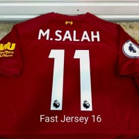 Jersey LIVERPOOL Home/Away/3rd + NAMESET PATCH EPL 2019/2020 Grade Ori