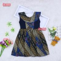 Dress Batik Anak uk 1-3 Tahun / Baju Motif Anak Perempuan Lucu Murah
