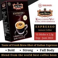 Kopi Vietnam King Coffee Espresso Instant isi 15 sachet - Trung Nguyen