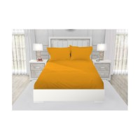 SPREI KING FITTED CALIFORNIA POLOS EMBOSS 180x200 ICE MANGO