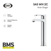 AER Kran Wastafel Air Dingin- Kran Kuningan Mixer Faucet SAS WH2 C