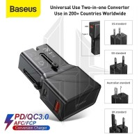 BASEUS CCTY-01 Universal Conversion Plug Travel Charger Power Delivery