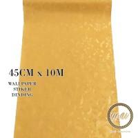 Home Wallpaper Sticker Dinding Gold Sakura - 45cm x 10 m