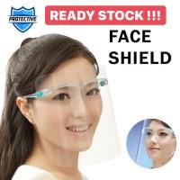 Faceshield Topi Pelindung Kacamata Safety Face Shield Nagita