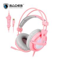 Headset Gaming Sades Locust 704 7.1ch Sound