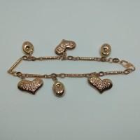 gelang emas 375 (g15 375)