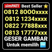 Nomor cantik simPATI Telkomsel Seri VIP Most WANTED Paling dicari !!