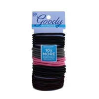 Goody ouchless 10912 braided elastics cherry blossom 30ct