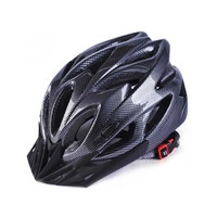 Helm Sepeda Taffsport MTB Roadbike Warna Carbon Glossy All mura