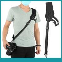 Sos PULUZ Pad Adjustable Camera Shoulder Strap Belt Quick
