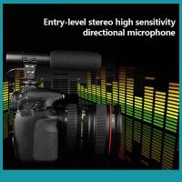 Sos Microphone Interview vzhan Untuk Kamera DSLR Nikon