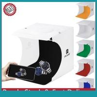 Sos PULUZ Kotak Studio Foto Mini Portable 20cm Dengan Lampu
