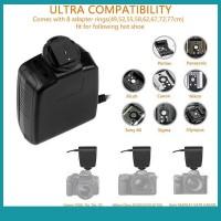Sos Lampu Flash Makro 48LED Untuk Kamera DSLR Nikon Canon