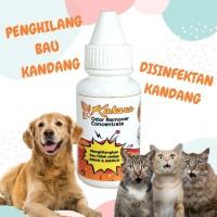 Disinfektan Kandang Hewan Dog Cat Penghilang Bau Pesing Kotoran Aman