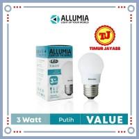 Lampu LED Bohlam Lampu Garansi 3 watt 3watt 3 w 3w Lampu Termurah