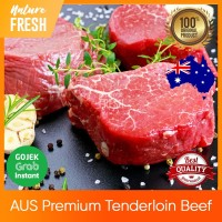 Daging Sapi AUS Tenderloin Premium Grade - AUS Beef Steak Has 200gr