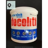 Cat Tembok Decolith 1 kg (Putih - Hitam)