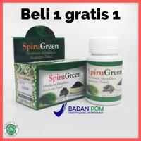 Beli 1 gratis 1 Kapsul Spirugreen/Ekstrak Spirulina