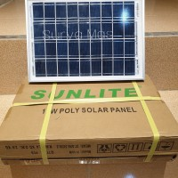 solar panel 10 wp solar cell panel surya 10wp poly