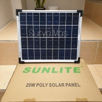 solar panel 20 wp solar cell panel surya 20wp poly