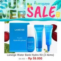[sarogayo] Laneige Water Bank Hydro Trial Kit (3 Items) Waterbank