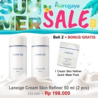 [Sarogayo] Laneige Cream Skin Refiner Trial Travel Medium Kit 50 ml