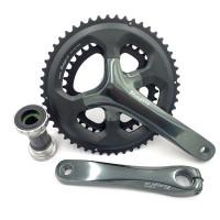 Crank Shimano Tiagra 4700 Dual 2 Speed Sepeda Lipat Road Bike