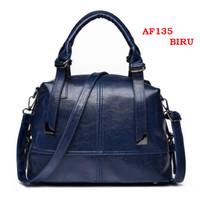 TAS TOTE BAG Tas wanita import set tas bahu tas selempang kulit PU 135