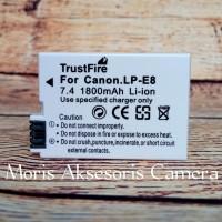 Batre Kamera Canon Eos 550d 600d dll
