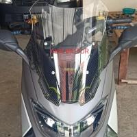 windshield visor kaca visor mhr ocito series 2 tone n max old