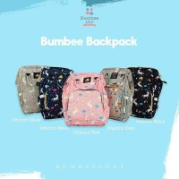Backpack Travelling Bahan Kanvas Bumbee Collection