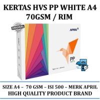 Kertas HVS PP White A4 70Gsm / Rim - High Quality