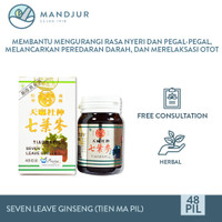 Seven Leave Ginseng (Tien Ma Pil) - rematik, sakit urat, pegal, linu