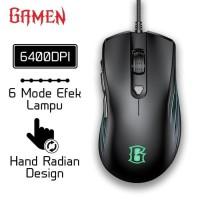 GAMEN Mouse GM1500 6400DPI Optical Positioning Technology Original