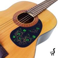 Pickguard Beskemer Gitar Motif Bunga Stiker Pick Guard Guitar PG-40