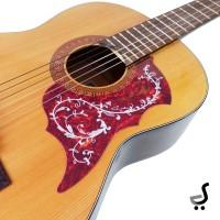 Pickguard Beskemer Gitar Stiker Burung Pick Guard Guitar PG-30 Merah