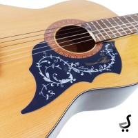 Pickguard Beskemer Gitar Stiker Burung Pick Guard Guitar PG-30 Hitam