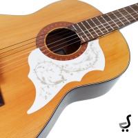 Pickguard Beskemer Gitar Stiker Burung Pick Guard Guitar PG-30 Putih