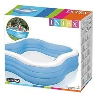Intex Swim Center Family Pool Beach Wave. Kolam Karet Renang Anak