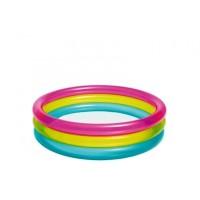 Kolam Mandi Bayi Pelangi Kolam Bayi Intex Rainbow Baby Pool 57104