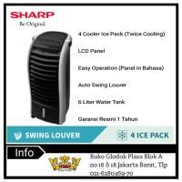 Sharp PJ-A26MY-B Air Cooler - Black *jABODETABEK*